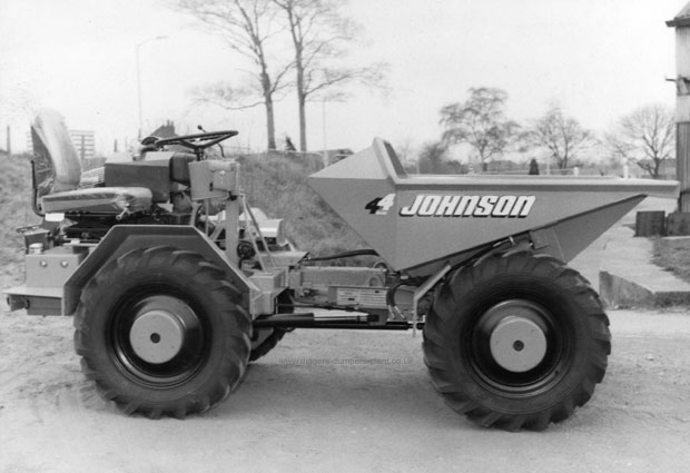Johnson 4x4 dumper