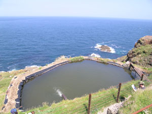 Levant Engine pond on the cliff top