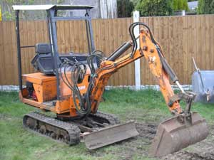 Powerfab 1250X mini digger
