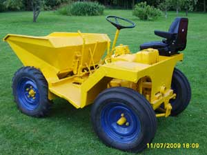 1965 Benford 750 Dumper with Petter PH1